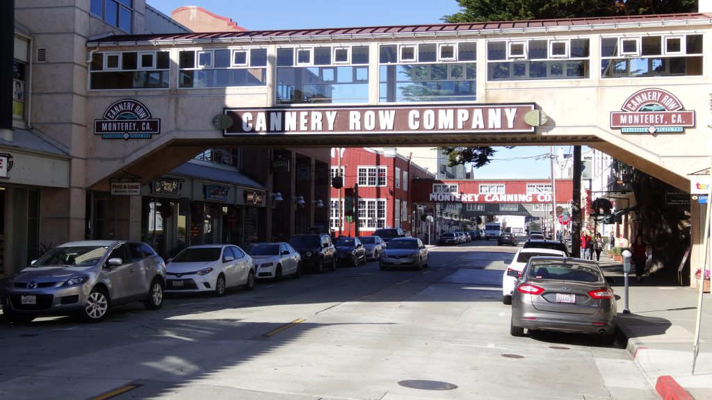 Cannery Row à Monterey